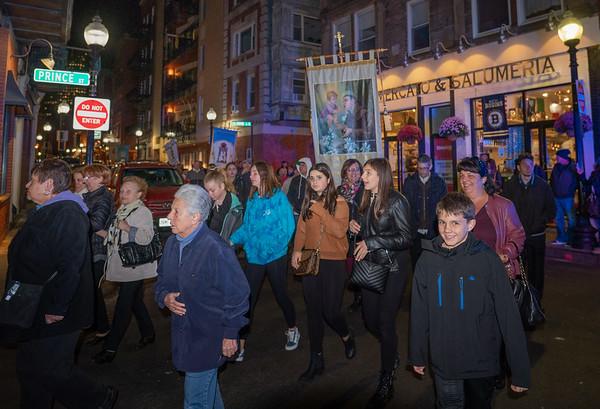 All Saints Day Procession in Boston's North End