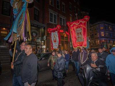 Procession on Salem St.