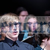 Gabe Desroschers of Liberty joins the bass section of the Senior High Mixed Chorus.