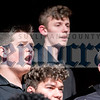 """Connor Parks of Liberty High School sings along to the """"Last Words of David,"""" along with other members of the Senior High Mixed Chorus."""