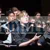 Edward Spear of Monticello was one of two soloists during the Senior High Mixed Chorus performance.