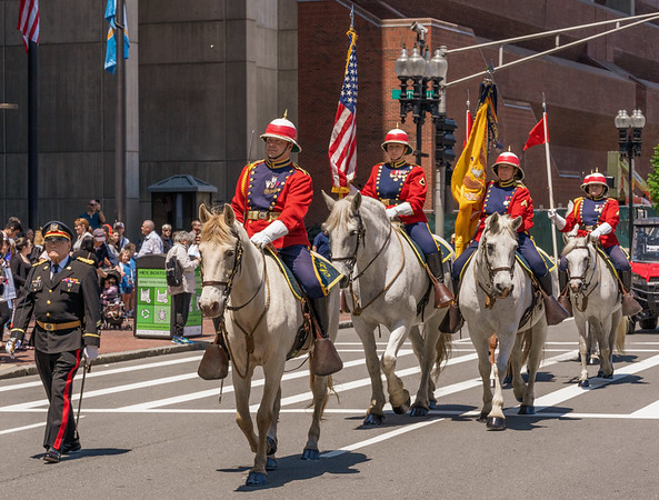 Ancient and Honorable Artillery Company Parade