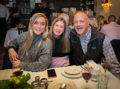 Tayor, Amy and Todd at Antico Forno for CityFeast