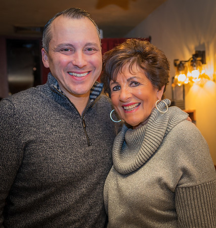 Rep. Aaron Michlewitz and Marie Agrippino