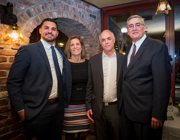 (L-R) David Gomes, Carla Agrippino Gomes, Dr. Ronald Gomes and Dr. Peter Amenta, CEO and President of Joslin Diabetes