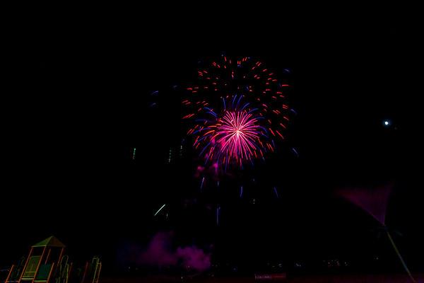 Coney Island Fireworks Aug 9th