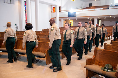 Mecklenburg County Sheriff's Training Academy Graduation Platoon 1901 & 1902 @ 1st Baptist Church 6-27-19 by Jon Strayhorn