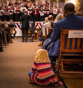 Girl listens to Handel's Messaih
