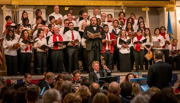 Soloist at Handel's Messaih