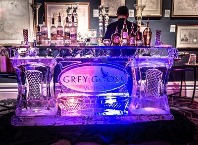 Unofficial ice bar stop at Rowes Wharf