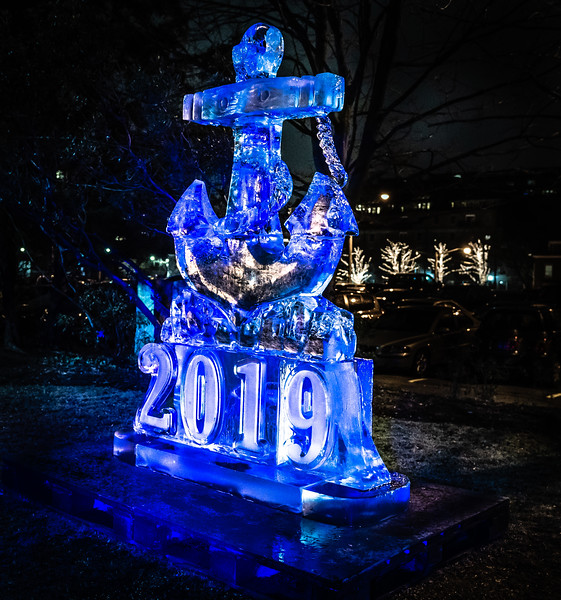 2019 New Year's Ice Sculptures