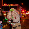Lumberland fireman Phil Talley rocked out to Jingle Bell Rock.