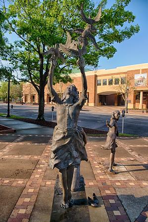 Kelly Ingram Park & Sixteenth St Baptist Church Birmingham AL 4-6-19 by Jon Strayhorn