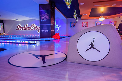 Kemba Walker's Game Night Allstar Party @ Strike City 2-15-19 by Jon Strayhorn