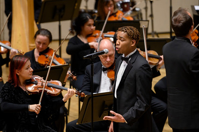 Morehouse Glee Club with the Charlotte Symphony @ Belk Theatre 10-10-19 by Jon Strayhorn