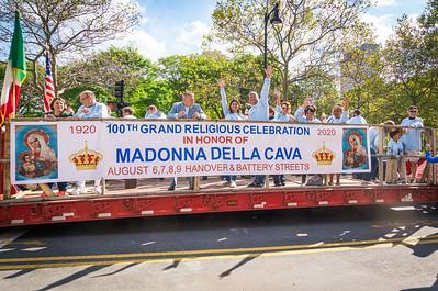 Preparing for their 100th year feast in 2020, the Madonna Della Cava Society