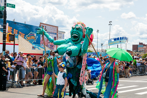 The Mermaid Parade
