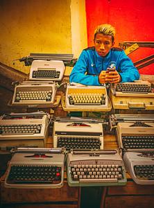 Typewriters for Sale at Antananarivo Market