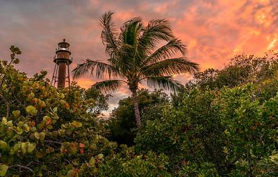 Sanibel Island Beach Lighthouse