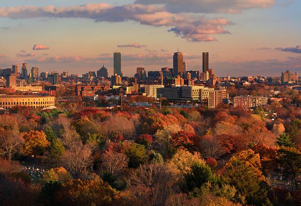 Boston in Fall