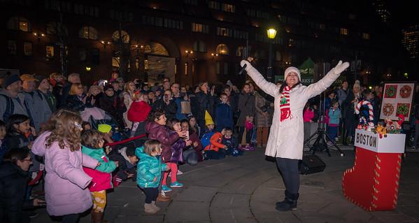 Singer Sharon Zeffiro performs holiday classics