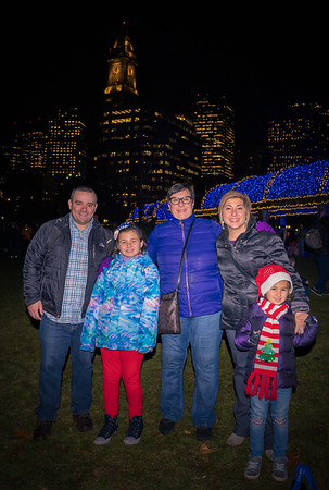 Family fun at the Trellis Lighting