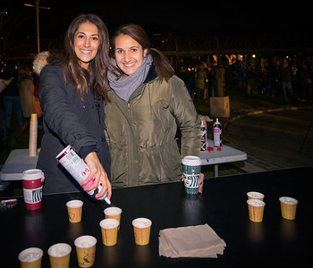 The Long Wharf Marriott serves hot chocolate