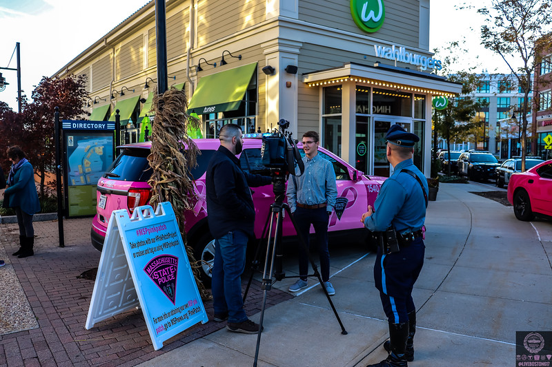 Wahlburgers Pink Patch Project Event - Hingham