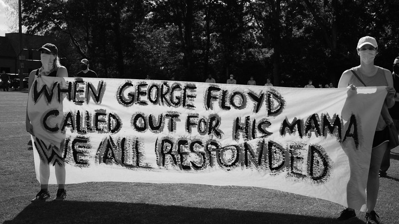 Alabama Rally Against Injustice for George Floyd - Mountain Brook AL - 4 June 2020