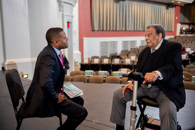 Annual Medallion Award w-Ambassador Andrew Young @ Dale F Halton Theater 1-20-2020 by Jon Strayhorn