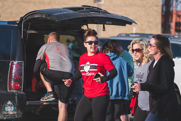 "January 1st, 2020 surprised runners with beautiful sunshine and 50 degree temps at the Joplin Chilly 5k presented by Freeman Health System.  The wind was brutal but ""yetis"" can't be stopped running in the New Year."