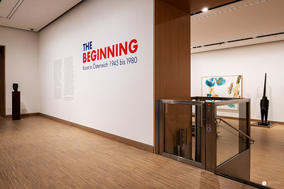 "Ausstellung ""The Beginning"" in der Albertina Modern"
