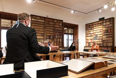 Besuch des Bildarchivs der Nationalbibliothek mit einer Führung von Direktor Dr. Hans Petschar