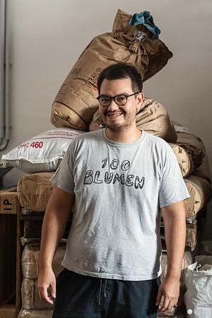 Alexander Forstiger von der Brauerei 100 Biere in Wien