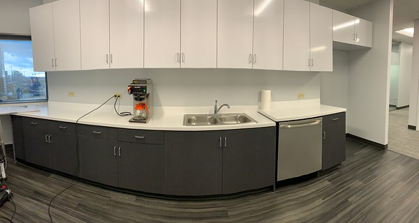 Kitchen with a View (pano)