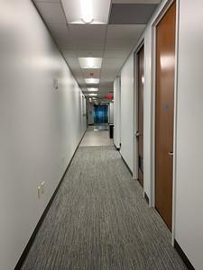 Back of Hallway Looking Towards Reception