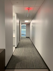 Front Hallway to Offices