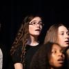 Sophia Ferguson, a Liberty seventh grader, brought her soprano voice to the junior high treble chorus.