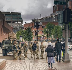 National Guard at City Hall
