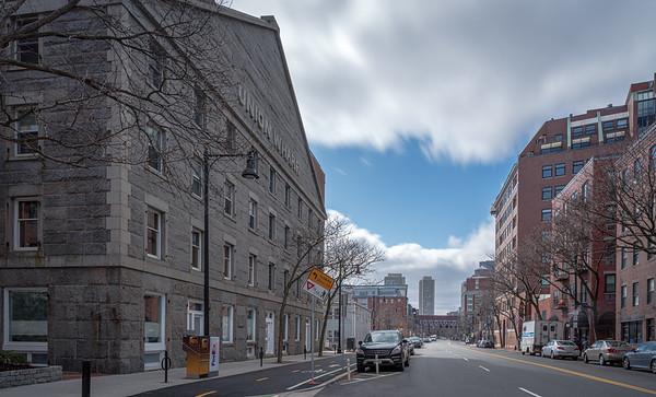 Commercial Street during coronavirus
