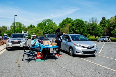CMS Grab & Go Easter Meals @ Greenville Rec 4-6-2020 by Jon Strayhorn