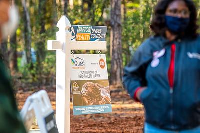 Carolina Raptor Center Trail Tour 10-17-2020 by Jon Strayhorn