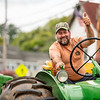 Russell Olsen is a mainstay at the local tractor parades.