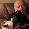 Taser & Gramps resting