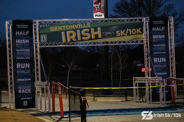 Storms may have delayed the intended weekend of the Irish, but luck was in runners favor with a cool sunny day on the next weekend for the Irish 5k/10k.