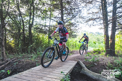 2021 Kessler Mountain Jam took place on a sunny Sunday morning, August 16th. Riders came out to take on the cross-country course throughout Fayetteville, Arkansas's Kessler Mountain.