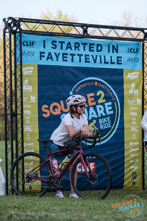 After a year of virtual events, the Square 2 Square Bike Ride was back in 2021, kicking off their spring ride at Walker Park in Fayetteville.  Cyclists of all ages and abilities rode their way along the Razorback Greenway to finish at the Bentonville Square.