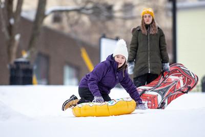 Sliding in Victoria Park Ally, Sabrina, Meghan, Natalie