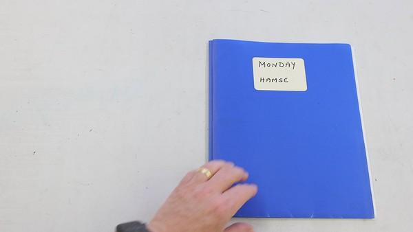 Elementary School Bag - Monday Blue Book