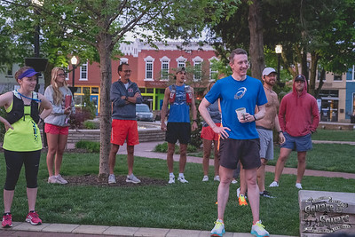 After being canceled last year due to COVID, a small group of runners got together once again to run the Unofficial Square to Square Marathon.